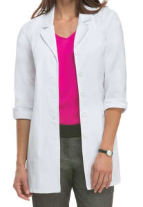 31 Inch 3/4 Sleeve Twill Lab Coat