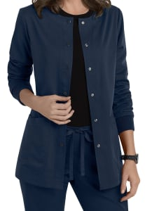 4 Pocket Front Snap Jacket