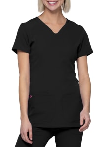 Pitter-Pat V-Neck Media Top