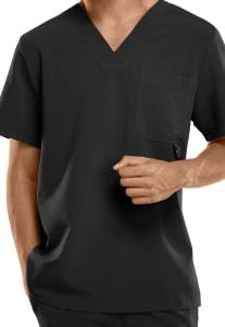 D-Ring Pocket V-Neck Top