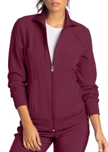 Infinity By Cherokee Zip Front Warm Up Scrub Jackets With Certainty
