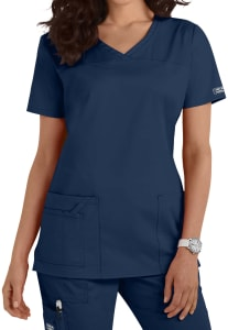 Cherokee Workwear Core Stretch Shaped V-Neck Scrub Top
