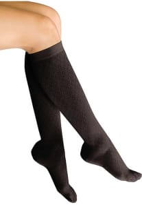 Light Support Diamond Trouser Socks