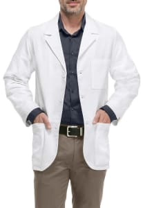31 Inch Antimicrobial Lab Coat