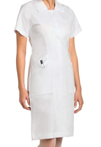 Nursing Student Button Front Dress