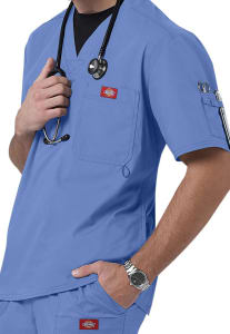 Dickies Gen Flex Youtility Men's V-Neck Scrub Top