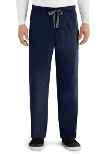 Grey's Anatomy Men's 6 Pocket Cargo Scrub Pants
