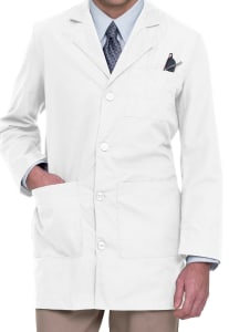 35 Inch Tailored Lab Coat