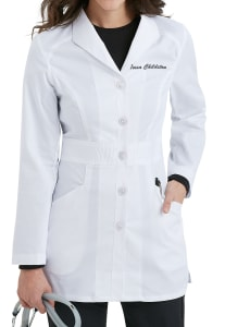 31 Inch Mid Length Lab Coat