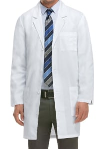 37 Inch 4 Button Lab Coat