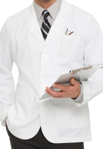 31 Inch Consultation Length Lab Coat