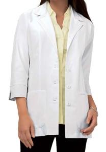 29 Inch 3/4 Sleeve Lab Coat