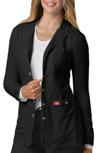 28 Inch Snap Front Lab Coat