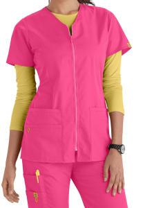 Kilo Zip Front V-Neck Jacket