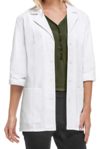 30 Inch Antimicrobial Lab Coat