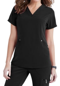 Charli 3 Pocket V-Neck Top