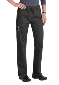 Drawstring Straight Leg Cargo Pants
