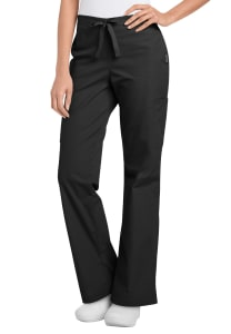 Relaxed Cargo Flare Leg Pants