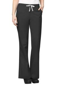 4 Pocket Flare Leg Drawstring Pants