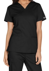 V-Neck Top with Bungee Loop