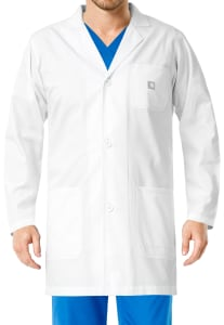 36 Inch 3 Button Lab Coat