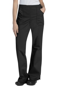 Drawstring Natural Fit Flare Pants