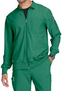 Zip Front Antimicrobial Jacket