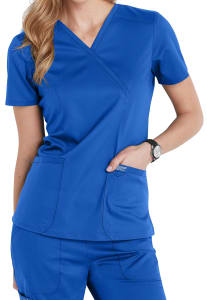 Cherokee Workwear Revolution Crossover Scrub Top