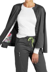 Warm Up Jacket with Hidden Pockets