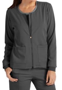Full Zip Jacket with Hidden Pocket