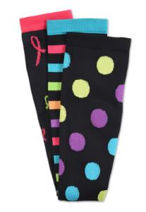 3 Pair Print Compression Socks