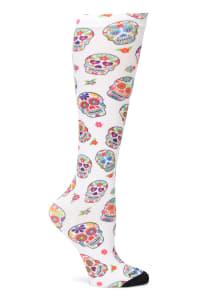 Nurse Mates 360 Compression Seamless Print Socks