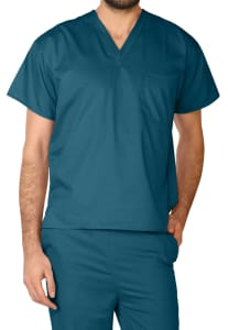 Antimicrobial V-Neck Unisex Top