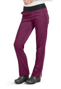Straight Leg Knit Waist Pants