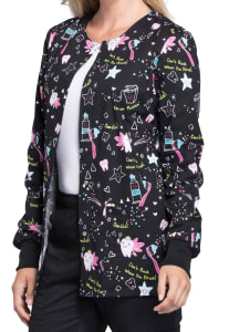 Tooth Fairy Magic Print Jacket