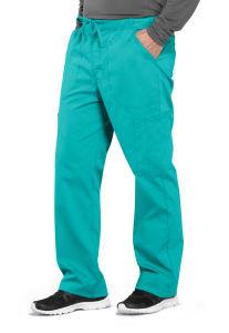 Tapered Leg Drawstring Cargo Pants