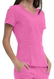 HeartSoul Love Always Lovely V-Neck Scrub Top