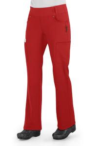 Cherokee Iflex Mid Rise Pull On Knit Waist Scrub Pants