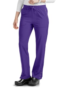 ELLE Simply Polished Amour Et Compassion Drawstring Waist Scrub Pants