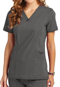 Dickies Advance Two Tone Twist V-Neck Scrub Top