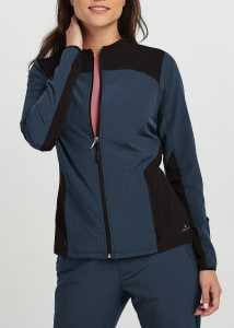 Sleek Neckline Zen Jacket