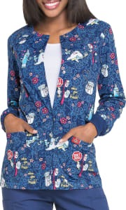 Don't Rush Dental Print Jacket