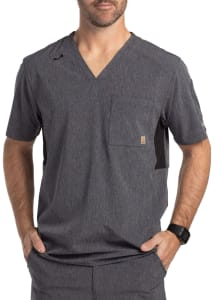Carhartt Liberty Men's Slim Fit V-Neck Scrub Top