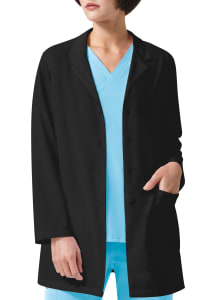Zip Pocket Lab Coat