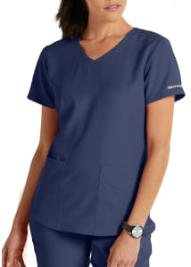 Skechers Vitality 3 Pocket Virtual V-Neck Scrub Top