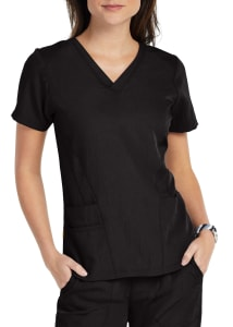 Flexi Stylized V-Neck Top