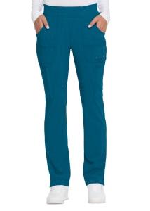 Solid Tonal Twist Cargo Pants