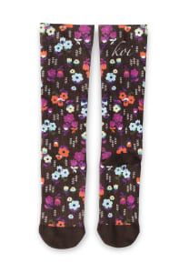 Antimicrobial Print Compression Socks