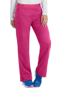 Med Couture Touch Ally Yoga Waist Cargo Scrub Pant