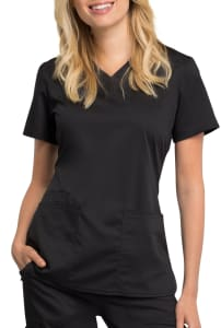 V-Neck Antimicrobial Top